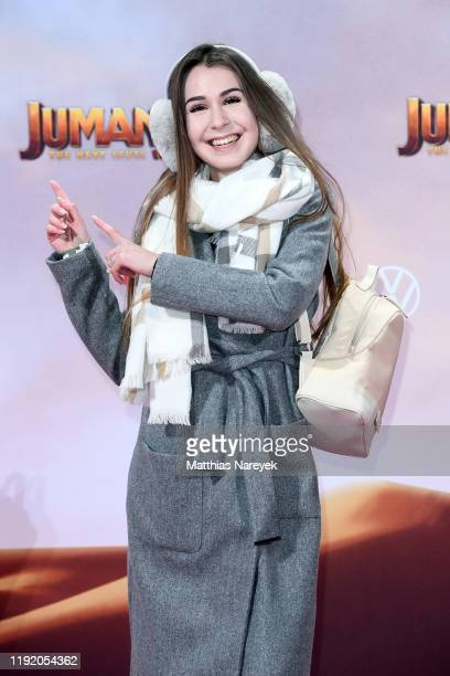 Typisch Kassii at the Berlin premiere of JUMANJI THE NEXT LEVEL at Sony Center on December 04 2019 in Berlin Germany