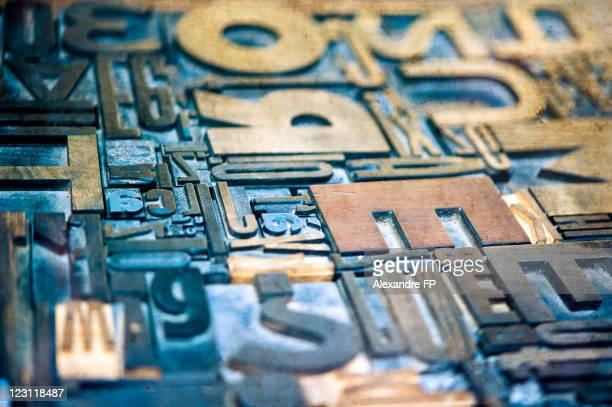 Typographic mosaic