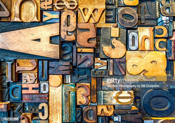typography - font stock photos and pictures