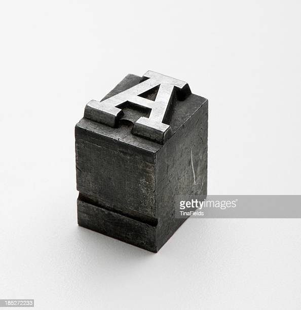 typography - letter a stock pictures, royalty-free photos & images