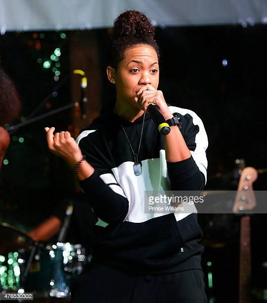 Tyra B performs at Park Tavern on June 9 2015 in Atlanta Georgia