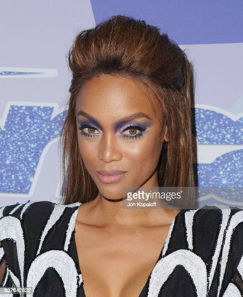 Tyra Banks arrives at NBC's America's Got Talent Season 12 Live Show at Dolby Theatre on August 22 2017 in Hollywood California