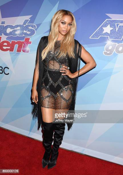Tyra Banks arrives at the NBC's 'America's Got Talent' Season 12 Finale Week at Dolby Theatre on September 19 2017 in Hollywood California