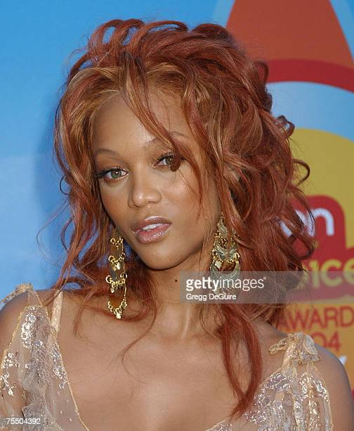 Tyra Banks at the Universal Ampitheatre in Universal City California