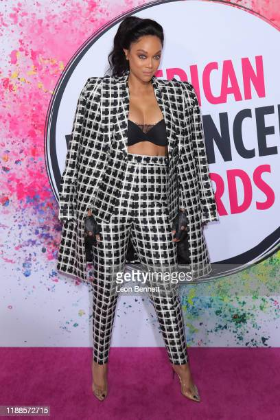 Tyra Banks attends 2019 American Influencer Awards at Dolby Theatre on November 18 2019 in Hollywood California