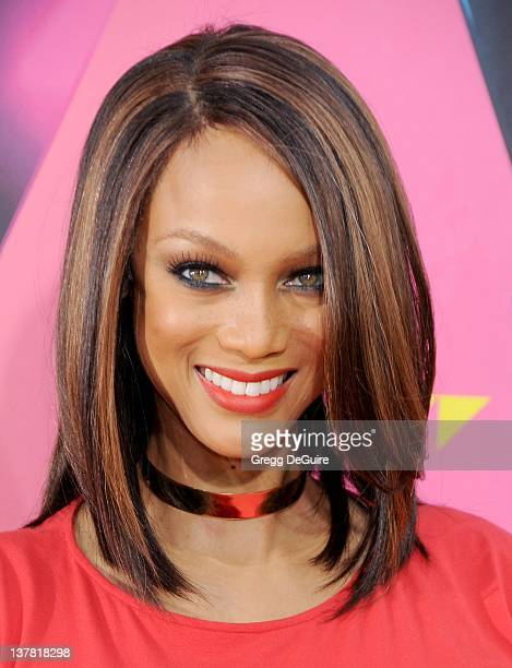 Tyra Banks attends Nickelodeon's 23rd Annual Kids' Choice Awards held at Pauley Pavilion at UCLA on March 27, 2010 in Los Angeles, California.