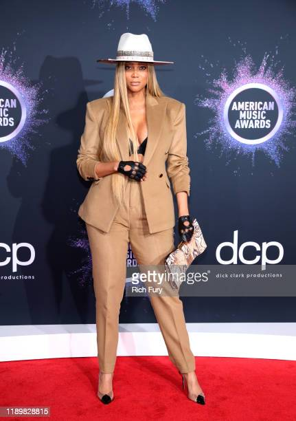 Tyra Banks attends the 2019 American Music Awards at Microsoft Theater on November 24, 2019 in Los Angeles, California.