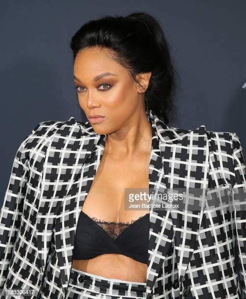Tyra Banks attends the 2nd Annual American Influencer Awards at Dolby Theatre on November 18 2019 in Hollywood California