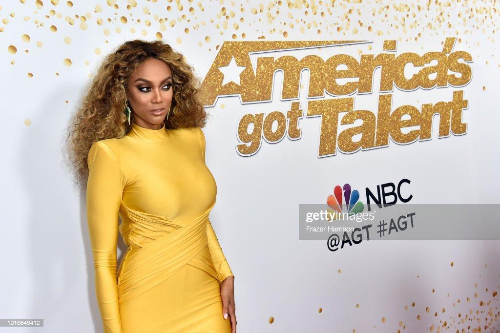 """America's Got Talent"" Season 13 Live Show Red Carpet"