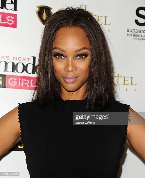 Tyra Banks Clothing Line: America's Next Top Model Stock Photos And Pictures