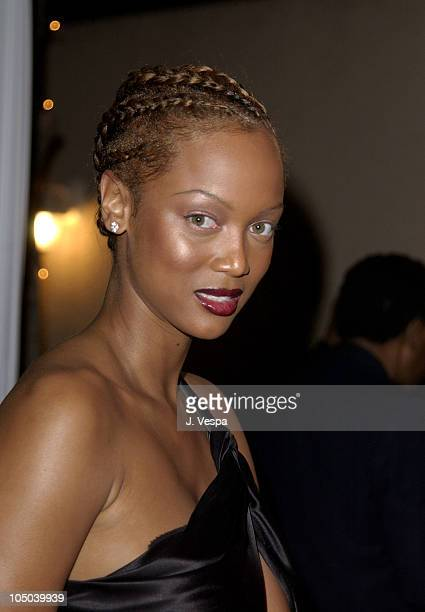 Tyra Banks during 34th NAACP Image Awards Zino Platinum Talent Lounge at Universal Amphitheatre in Universal City California United States