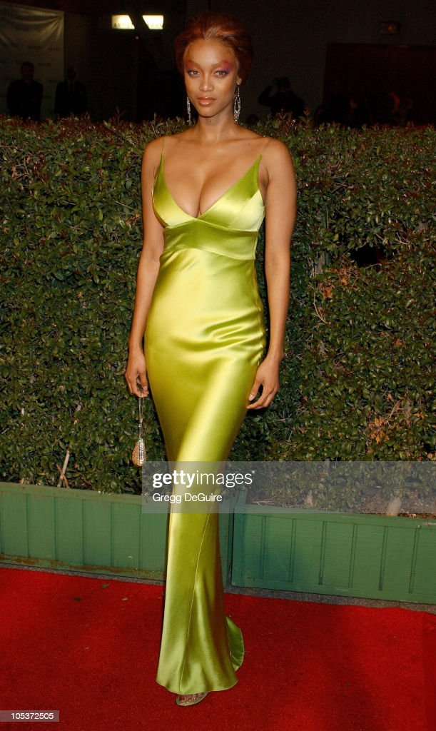 Tyra Banks during 35th NAACP Image Awards - Arrivals at Universal Ampitheatre in Universal City, California, United States.