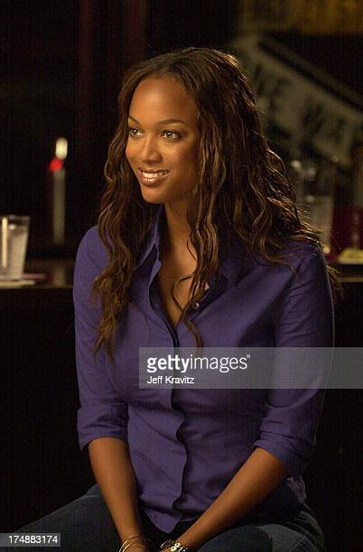 Tyra Banks during Coyote Ugly cast in Hollywood California United States