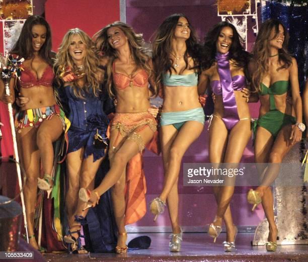 Tyra Banks, Heidi Klum, Adriana Lima, Selita Ebanks and Alessandra Ambrosio