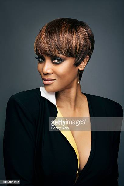 Tyra Banks is photographed at the 2015 Summer TCAs for or The Wrap on August 5 2015 in Hollywood California