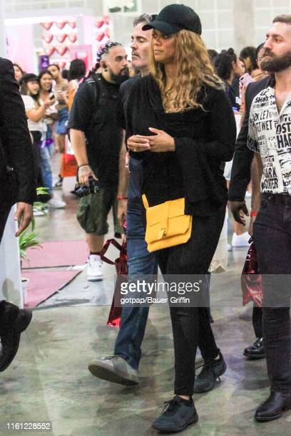 Tyra Banks is seen on August 11 2019 in Los Angeles California