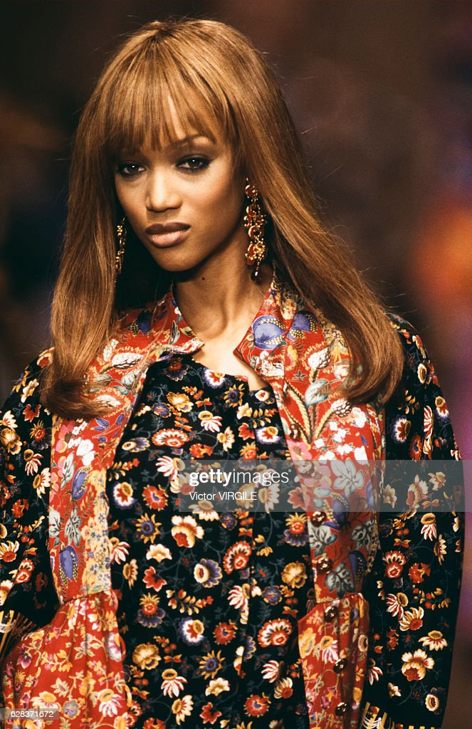 Christian Lacroix - Runway - Ready To Wear Spring/Summer 1994 : News Photo