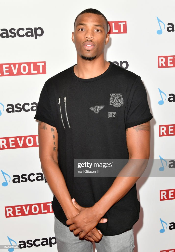 Tyran Brown at the ASCAP 2017 Rhythm & Soul Music Awards at the