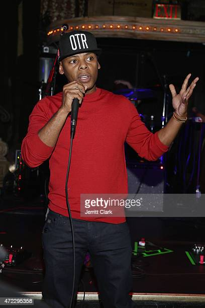 Tyran 'Ty Ty' Smith introduces Sam ROMANS at The Box on May 5 2015 in New York City