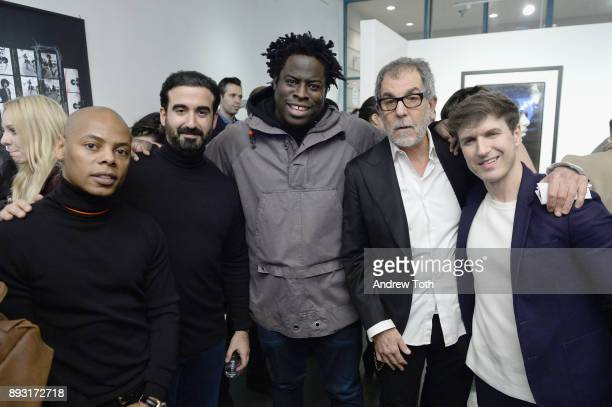 Tyran 'Tyty' Smith CEO of Vero Ayman Hariri Jeymes Samuel photographer Robert Whitman and Creative Director at NJG Studio Nick Groarke attend Robert...