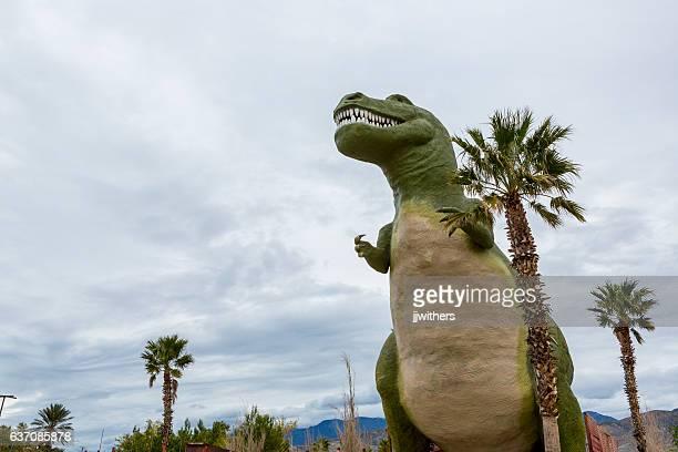 Tyrannosaurus rex attraction Cabazon California off Interstate 10