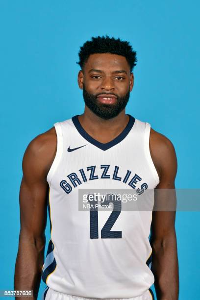Tyreke Evans of the Memphis Grizzlies poses for a head shot during Media Day on September 25 2017 at FedExForum in Memphis Tennessee NOTE TO USER...