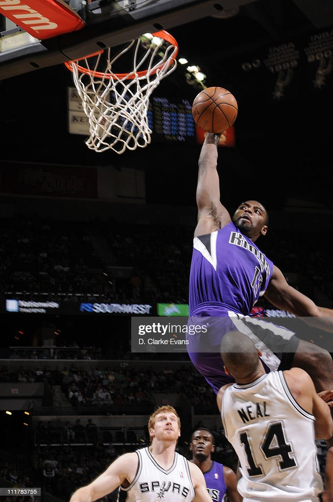 Sacramento Kings v San Antonio Spurs