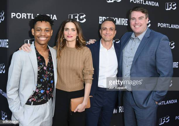 Tyrel Jackson Willliams Amanda Peet Hank Azaria and Joel ChurchCooper attend IFC Hosts 'Brockmire' And 'Portlandia' EMMY FYC Red Carpet Event at...