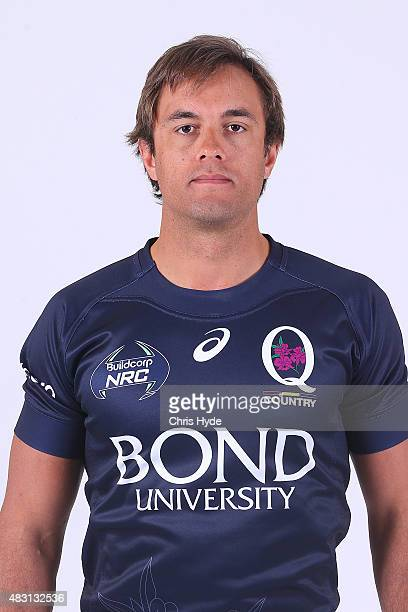 Tyrell Barker poses during a Queensland Country Headshots Session at Ballymore Stadium on August 6 2015 in Brisbane Australia