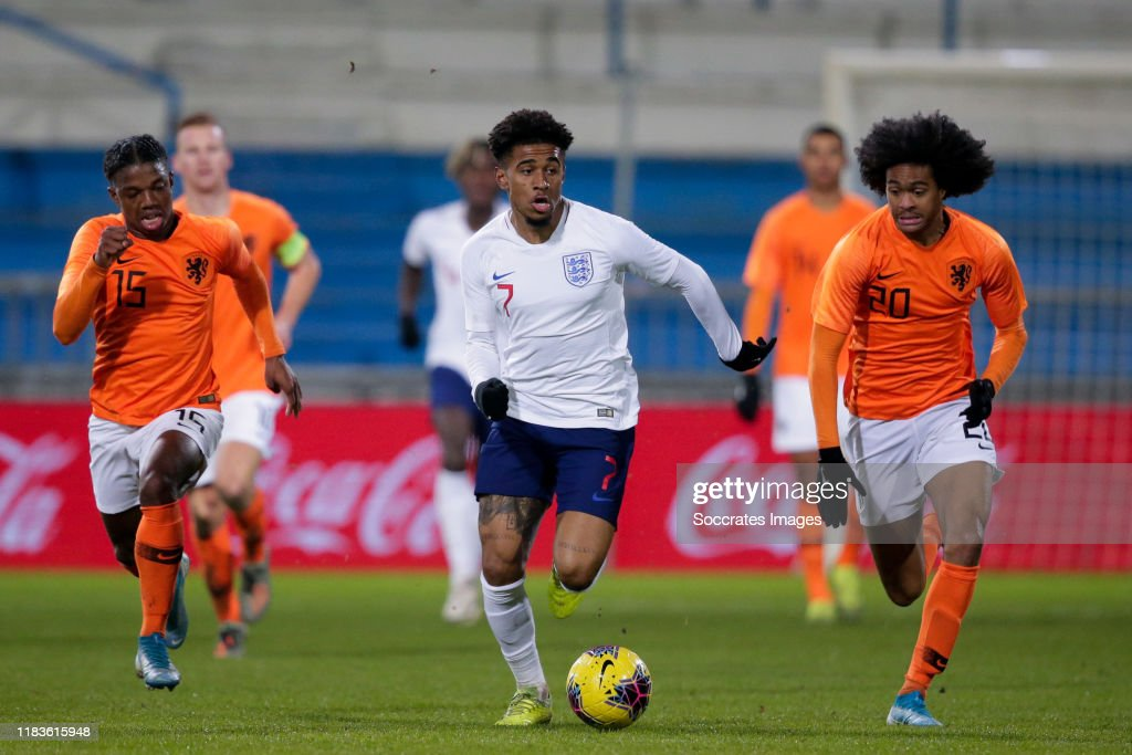 Holland U21 v England U21 -U21 Men : News Photo