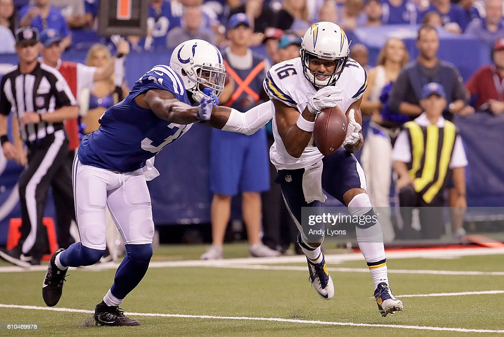 San Diego Chargers v Indianapolis Colts : News Photo