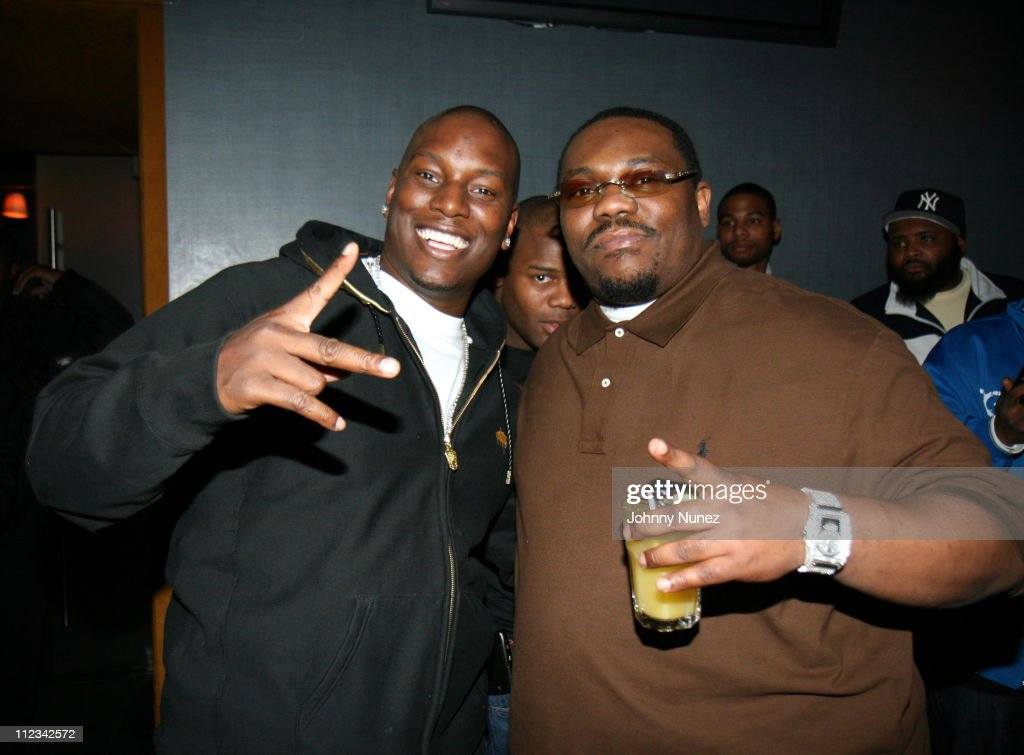 Tyrese and Beanie Sigel during Beanie Sigel's Birthday Party - March 6, 2007 at 40-40 Club in New York City, New York, United States.