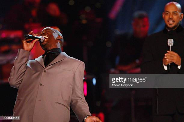 Tyrese during 2001 Soul Train Christmas Starfest Show at Santa Monica Civic Auditorium in Santa Monica California United States