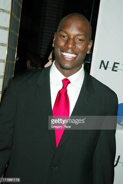 Tyrese during 2003 Clive Davis PreGRAMMY Party at The Regent Wall Street in New York NY United States