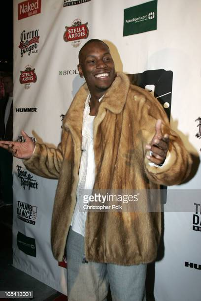 Tyrese during 2005 Sundance Film Festival 'Hustle and Flow' After Party at Premiere Lounge in Park City Utah United States