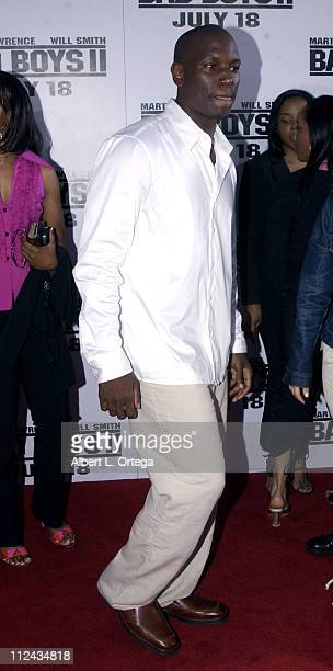 Tyrese during 'Bad Boys II' Premiere in Westwood California United States