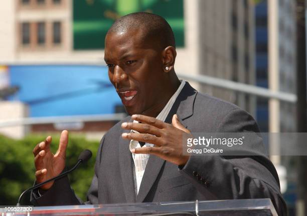 Tyrese during Director John Singleton Honored with a Star on the Hollywood Walk of Fame for His Achievements in Film at Hollywood Blvd in Hollywood...