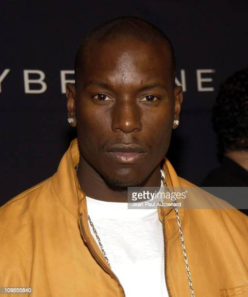 Tyrese during Teen People and Universal Records Honor Nelly as the 2002 Artist of the Year Arrivals at Ivar in Hollywood California United States