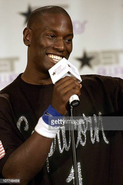 Tyrese during The 3rd Annual BET Awards Press Room at The Kodak Theater in Hollywood California United States