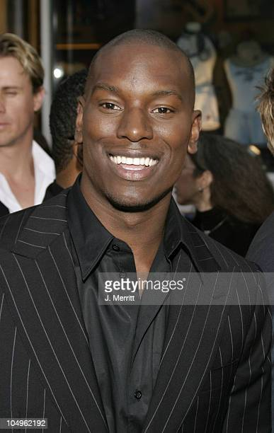 Tyrese during The World Premiere of 2 Fast 2 Furious at Universal Amphitheatre in Universal City California United States