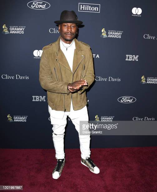 Tyrese Gibson arrives at the PreGRAMMY Gala and GRAMMY Salute to Industry Icons Honoring Sean Diddy Combs at The Beverly Hilton Hotel on January 25...