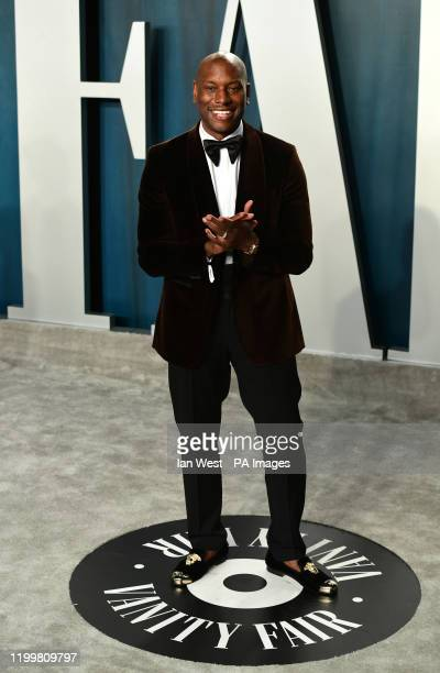 Tyrese Gibson attending the Vanity Fair Oscar Party held at the Wallis Annenberg Center for the Performing Arts in Beverly Hills Los Angeles...