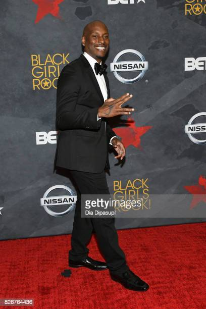Tyrese Gibson attends Black Girls Rock 2017 at NJPAC on August 5 2017 in Newark New Jersey