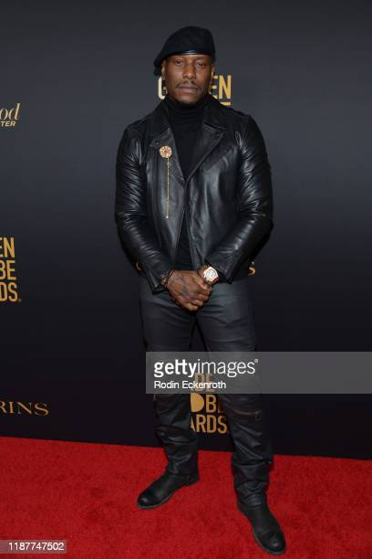 Tyrese Gibson attends the HFPA And THR Golden Globe ambassador party at Catch LA on November 14 2019 in West Hollywood California