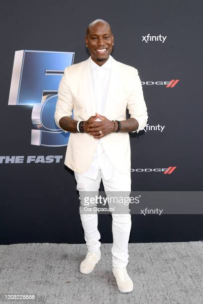 Tyrese Gibson attends The Road to F9 Global Fan Extravaganza at Maurice A Ferre Park on January 31 2020 in Miami Florida