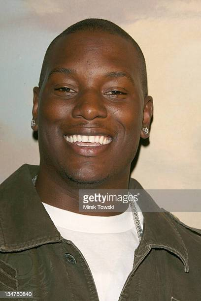 Tyrese Gibson during 2006 American Music Awards Nominations at Beverly Hills Hotel in Beverly Hills CA United States
