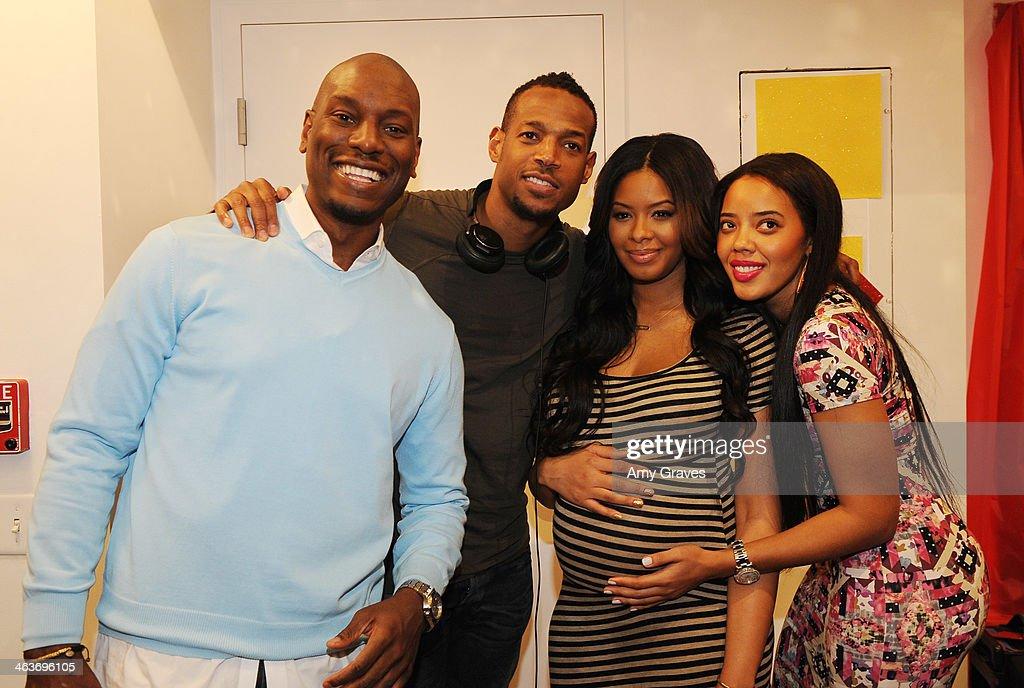 Tyrese Gibson Marlon Wayans Vanessa Simmons And Angela Simmons Attend  Vanessa Simmons Baby Shower At Sugar