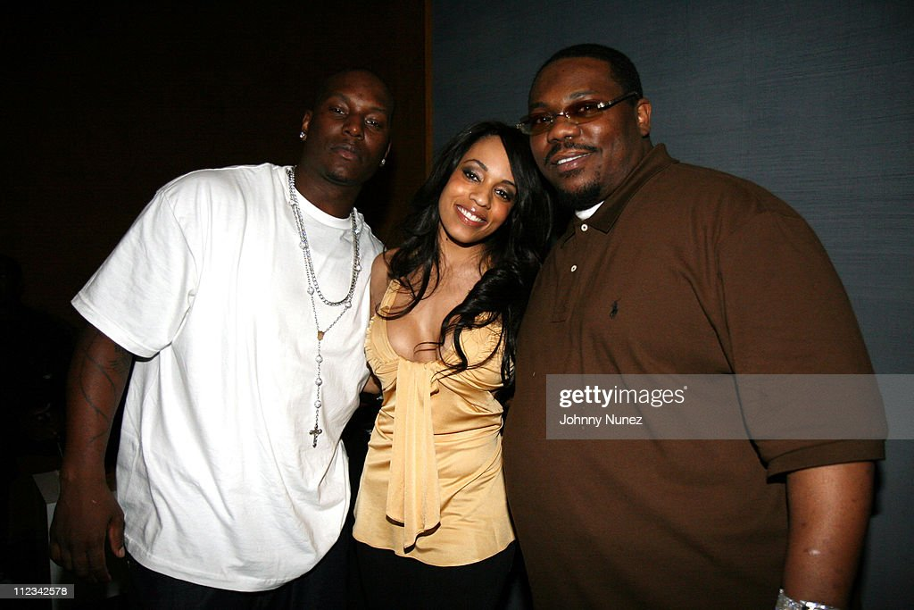 Tyrese, Melyssa Ford and Beanie Sigel during Beanie Sigel's Birthday Party - March 6, 2007 at 40-40 Club in New York City, New York, United States.