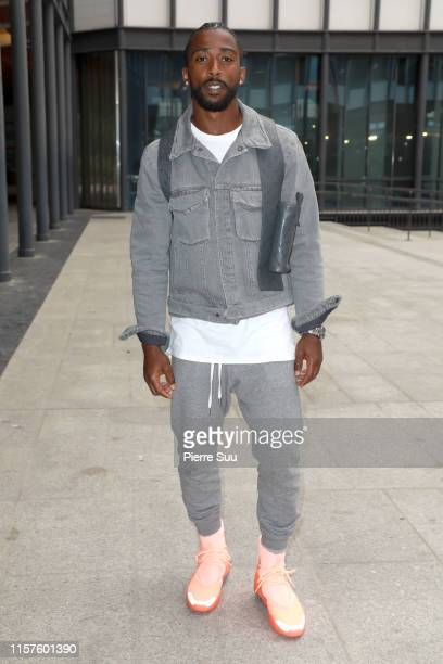 Tyrod Taylor attends the White Mountaineering Menswear Spring Summer 2020 show as part of Paris Fashion Week on June 22 2019 in Paris France