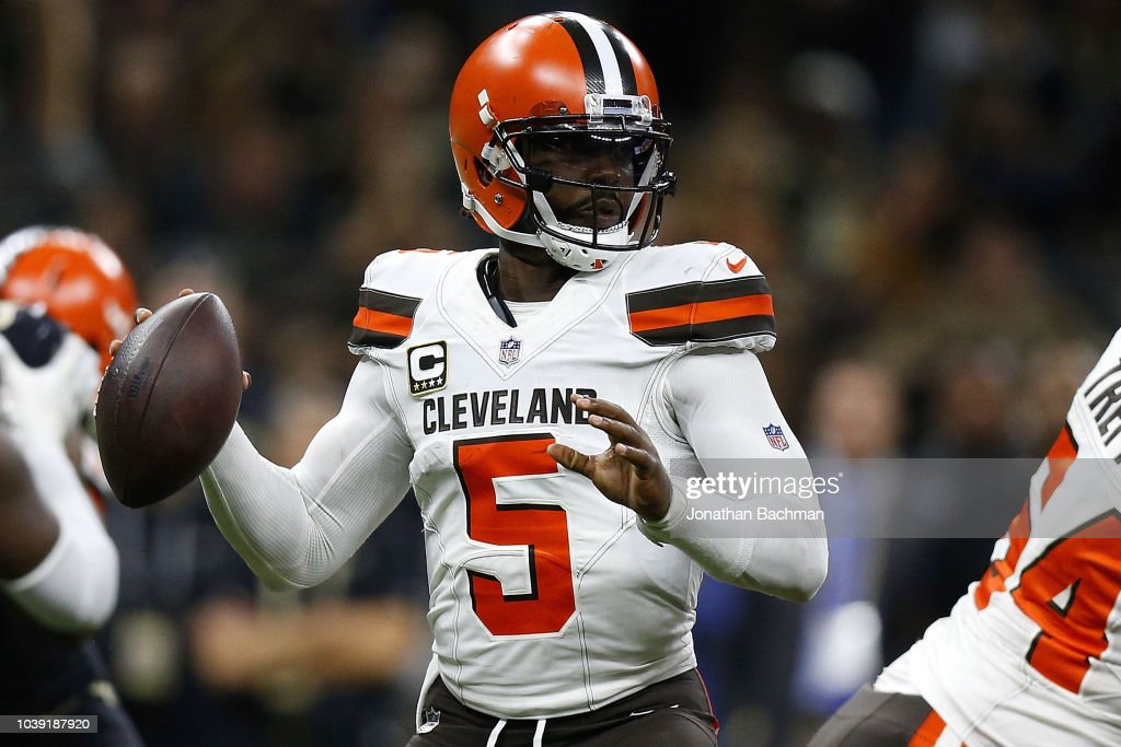 Cleveland Browns v New Orleans Saints : News Photo